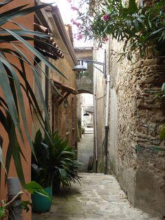 夏の優雅な南イタリア周遊旅行♪ Vol239(第13日) ☆Castellabate:美しき村「カステッラバーテ」 旧市街の可愛いカフェレストランでランチ♪