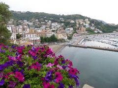夏の優雅な南イタリア周遊旅行♪ Vol244(第13日) ☆Agropoli:アグロポリ旧市街の美しい城門と花のパノラマ♪