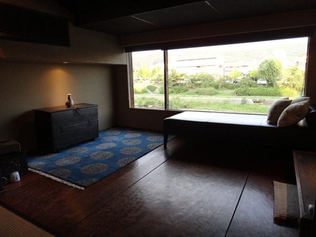 夏の京都といったらやっぱり納涼床!<br />でも、混んでいそうだし<br />その気分を味わうために鴨川沿いのテラス付町屋に宿泊してみました。
