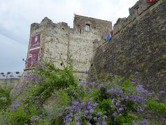 夏の優雅な南イタリア周遊旅行♪ Vol250(第13日) ☆Agropoli:美しいアグロポリ城「Castello di Angioino-Aragonese」 周囲のお堀を優雅に歩く♪