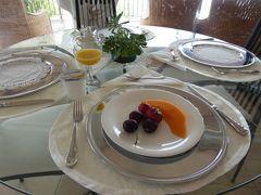 夏の優雅な南イタリア周遊旅行♪ Vol255(第14日) ☆Agropoli:アグロポリのホテル「San Francesco Resort」の朝食♪