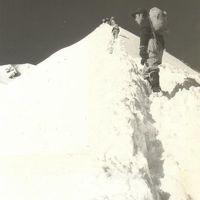 思い出の山旅ー8.谷川岳正月元旦登頂