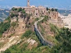 チャオ!イタリア!オルチャ渓谷~天空の村チビタ・ディ・バニョレージョ~ローマ到着⑦