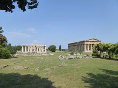夏の優雅な南イタリア周遊旅行♪ Vol257(第14日) ☆Paestum:世界遺産パエストゥム 憧れの古代ギリシャ神殿へ♪