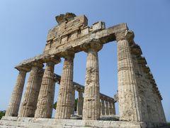 夏の優雅な南イタリア周遊旅行♪ Vol259(第14日) ☆Paestum:世界遺産パエストゥム「古代ギリシャ遺跡」 「Tempio di Cerere」を優雅に鑑賞♪