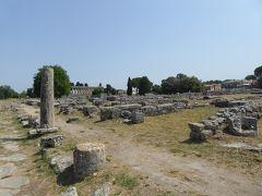 夏の優雅な南イタリア周遊旅行♪ Vol260(第14日) ☆Paestum:世界遺産パエストゥム「古代ギリシャ遺跡」 夢の跡を優雅に歩く♪