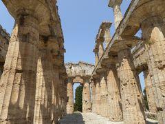 夏の優雅な南イタリア周遊旅行♪ Vol263(第14日) ☆Paestum:世界遺産パエストゥム「古代ギリシャ遺跡」 「Basilica」を優雅に鑑賞♪