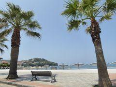 夏の優雅な南イタリア周遊旅行♪ Vol264(第14日) ☆Paestum→Agropoli:世界遺産パエストゥムの古代城壁と夏の海を眺めながら♪