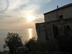 夏の優雅な南イタリア周遊旅行♪ Vol268(第14日) ☆Agropoli:アグロポリのホテル「San Francesco Resort」ジュニアスイートルームから黄昏のアグロポリの眺め♪