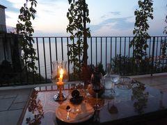 夏の優雅な南イタリア周遊旅行♪ Vol270(第14日) ☆Agropoli:アグロポリのホテル「San Francesco Resort」素晴らしい夜景を眺めながらデザートを♪