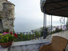 夏の優雅な南イタリア周遊旅行♪ Vol271(第15日) ☆Agropoli:アグロポリのホテル「San Francesco Resort」朝の風景を眺めながら朝食♪