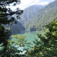北アルプス周遊~&絶景の旅【その4 黒部渓谷~富山】