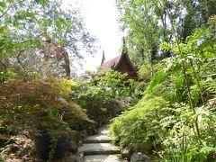 夏の優雅な南イタリア周遊旅行♪ Vol295(第16日) ☆Isola d'Ischia/Forio:美しい植物園「Giardini La Mortella」 「Sala Thai」美しいタイの東屋から眺めて♪