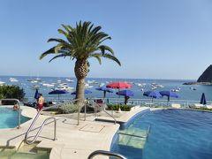 夏の優雅な南イタリア周遊旅行♪ Vol310(第16日) ☆Isola d'Ischia/S.Angelo:「Hotel Miramare Sea Resort」の「Parco Termae」 ゆったりと温泉に浸かる♪