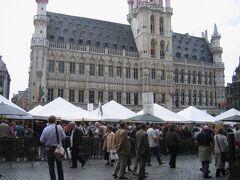 ブリュッセルのグラン・プラスでビール祭りに遭遇!