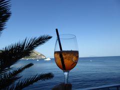 夏の優雅な南イタリア周遊旅行♪ Vol331(第17日) ☆Isola d'Ischia/S.Angelo:「Hotel Miramare Sea Resort」の優雅なアペリティフタイム♪