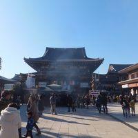 2016 川崎大師で初詣と羽田空港散策