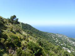 夏の優雅な南イタリア周遊旅行♪ Vol342(第18日) ☆Isola d'Capri:優雅なカプリ島の日帰り旅♪ アナカプリからリフトでソラーロ山♪絶景が広がる♪