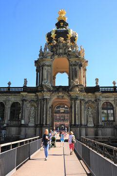 ドイツ・チェコ・ハンガリー・スロバキア・オーストリアのドライブ2087.3キロの旅 NO.2 ベルリンからレンタカーしてドレスデン観光