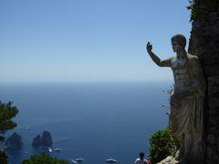 夏の優雅な南イタリア周遊旅行♪ Vol344(第18日) ☆Isola d'Capri:優雅なカプリ島の日帰り旅♪ ソラーロ山の天国のようなパノラマ♪