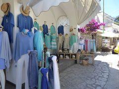 夏の優雅な南イタリア周遊旅行♪ Vol346(第18日) ☆Isola d'Capri:優雅なカプリ島の日帰り旅♪ アナカプリで優雅なショッピング♪