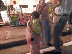 東海市k1孫娘と初めての花火大会と盆踊り