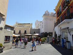 夏の優雅な南イタリア周遊旅行♪ Vol349(第18日) ☆Isola d'Capri:優雅なカプリ島の日帰り旅♪ カプリの優雅な散歩とショッピング♪