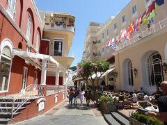 夏の優雅な南イタリア周遊旅行♪ Vol350(第18日) ☆Isola d'Capri:優雅なカプリ島の日帰り旅♪ カプリの優雅な散歩と怒涛のブランドショッピング♪