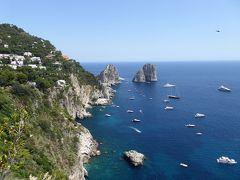 夏の優雅な南イタリア周遊旅行♪ Vol353(第18日) ☆Isola d'Capri:優雅なカプリ島の日帰り旅♪ 「Giardini d'Augusto」天国のようなパノラマ♪