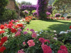 夏の優雅な南イタリア周遊旅行♪ Vol355(第18日) ☆Isola d'Capri:優雅なカプリ島の日帰り旅♪ 「Giardini d'Augusto」花が咲き乱れる庭園を眺めて♪