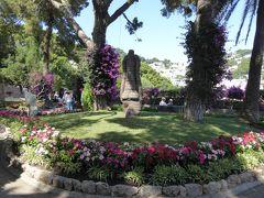 夏の優雅な南イタリア周遊旅行♪ Vol356(第18日) ☆Isola d'Capri:優雅なカプリ島の日帰り旅♪ 「Giardini d'Augusto」花がいっぱいの庭園にさよなら♪