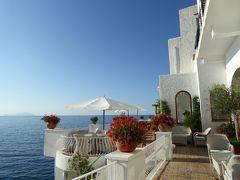 夏の優雅な南イタリア周遊旅行♪ Vol362(第19日) ☆Isola d'Ischia/S.Angelo:「Hotel Miramare Sea Resort」の素敵な朝食♪