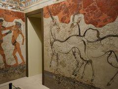 アテネ国立考古学博物館【1】エーゲ文明(キクラデス文明・ミノア文明他)