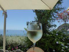 夏の優雅な南イタリア周遊旅行♪ Vol364(第19日) ☆Isola d'Ischia/S.Angelo:「Hotel Miramare Sea Resort」の「Parco Termae」で優雅な温泉バカンス♪ランチもまったりとサラダを♪