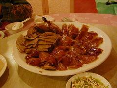 陶然亭餐廳(北京ダック)・楽華夜市・世界豆漿大王・淡水・八里 2005/04/28-29