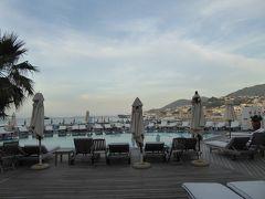 夏の優雅な南イタリア周遊旅行♪ Vol370(第19日) ☆Isola d'Ischia/Lacco Ameno:ラッコ・アメーノの最高級ホテル「Albergo della Regina Isabella」から黄昏の風景を眺めて♪