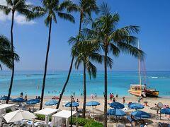 初めてのハワイ、期待のモアナサーフライダーホテル…