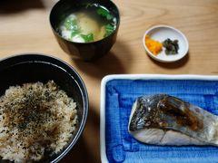 20160908 大阪 大黒さん、さわら焼物、かやく御飯 → はな酒バー