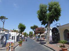 夏の優雅な南イタリア周遊旅行♪ Vol385(第20日) ☆Isola d'Ischia/Porto:ポルトの公園とメインストリートを歩く♪