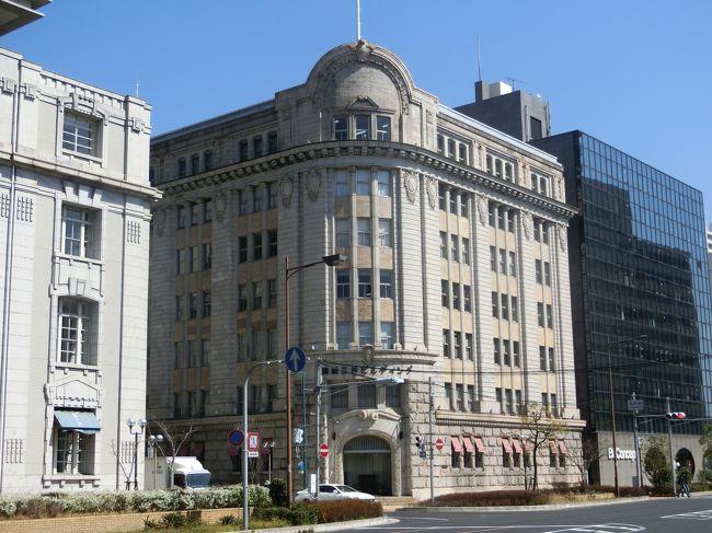 「商船三井ビルディング」は「神戸市中央区の旧居留地」に位置する「1922年(大正11年)」に「アメリカルネサンス様式」で「旧大阪商船神戸支店」として建てられた「近代化産業遺産の近代建築」です。