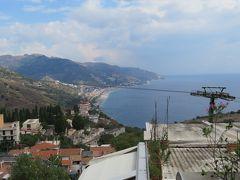 地中海の宝石箱、マルタへ(その6) 6日目 日帰りでシチリア島、タオルミーナとエトナ山