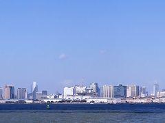 東京湾クルーズ2/4 東京ゲートブリッジをくぐり抜け ☆恐竜橋の愛称も