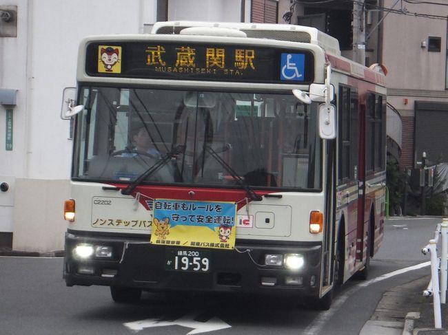 早朝1本だけ運行している青梅街道営業所から千川通りを経由して武蔵関駅まで行くバスに乗ってきました。