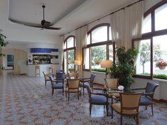 夏の優雅な南イタリア周遊旅行♪ Vol393(第20日) ☆Isola d'Ischia/S.Angelo:「Hotel Miramare Sea Resort」黄昏のロビーラウンジ♪