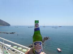 夏の優雅な南イタリア周遊旅行♪ Vol404(第21日) ☆Isola d'Ischia/S.Angelo:「Hotel Miramare Sea Resort」の「Parco Termae」優雅な温泉バカンス♪イタリアビールで乾杯♪