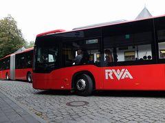 フッセンからガルミッシュパルテンキルヘンへの定期バスで