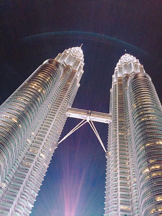 【マレーシア】ペトロナスツインタワー、パビリオン、噴水シンフォニー、2016年9月マレーシア、その08-2、