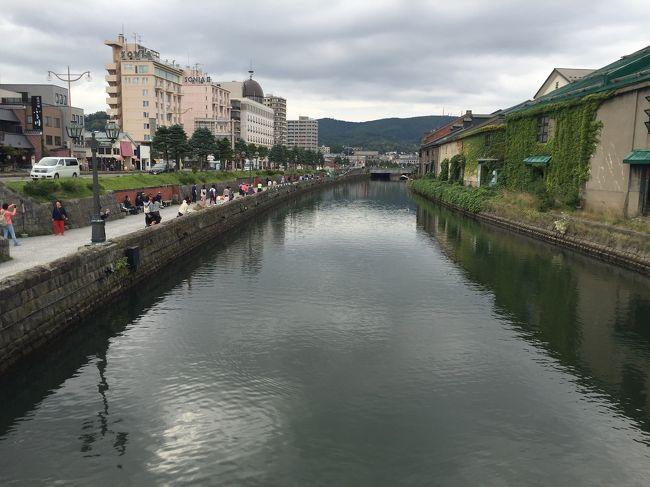 8年ぶりの北海道。<br />4日間お世話になったお友達とお別れして、今日は小樽に1泊です。<br /><br />宿泊 小樽ふる川 1泊2食付き 15800円<br />(シングルルーム利用)