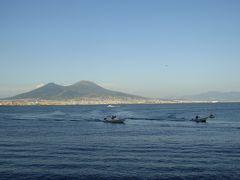 夏の優雅な南イタリア周遊旅行♪ Vol429(第22日) ☆Napoli:ナポリを見て死ね!サンタルチアから夕暮れのヴェスビオ火山♪