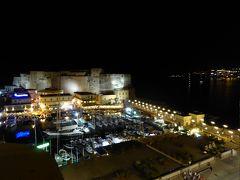 夏の優雅な南イタリア周遊旅行♪ Vol433(第22日) ☆Napoli:「Grand Hotel Santa Lucia」ジュニアスイートルームから最後の夜景の眺め♪